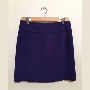 Ann Taylor loft purple skirt Sz 4